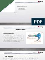 Termocupla y PT100