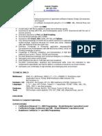 Gaurav_C++ Resume