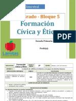 Plan 5to Grado - Bloque 5 Formación CyE