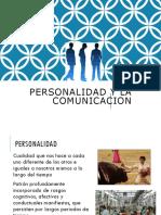 Comunicacion y Personalidad