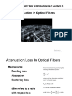 Losses in Fiber Optics