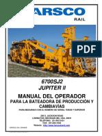 6700sj2 Op&Mt Manual Spa 2011