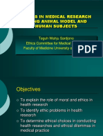Ethics in Med research