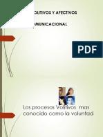 Procesos Afectivos y Proceso Comunicacional