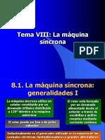 8. Máquina Sincrona (1)