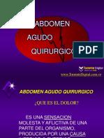 ABDOMEM AGUDO QUIRURGICO