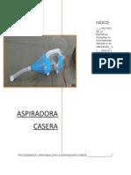 Aspiradora Casera