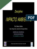 Disciplina - Impacto Ambiental