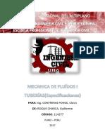 TUBERÍAS- MF1