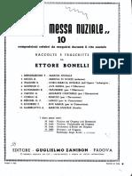 Per La Messa Nuziale - Ettore Bonelli