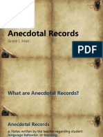 Anecdotalrecords Mait 140801113356 Phpapp02