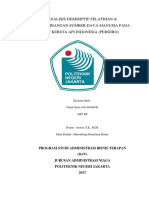Analisis Deskriptif Metode Pelatihan & Pengembangan
