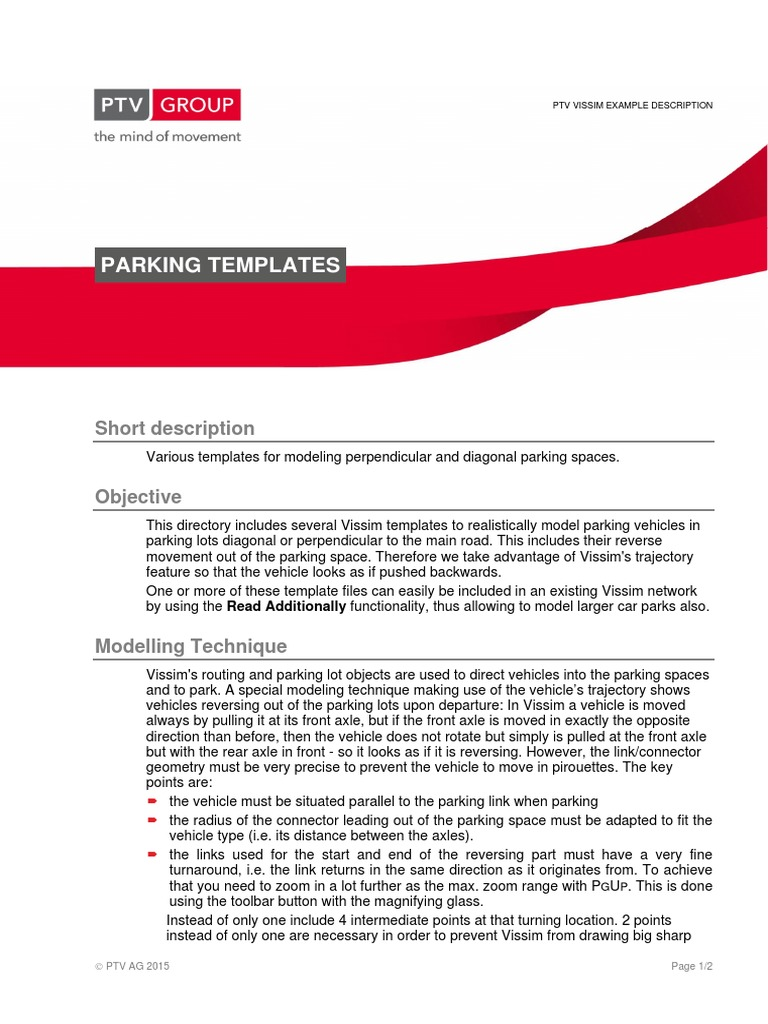 Parking Templates Eng Axle Vehicles