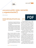 documentación como narración y argumentación.pdf