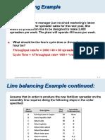 Lect 11 - Line Balancing & EOQ