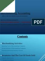 Merchndising Accounting