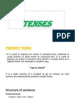 Tense Presentation
