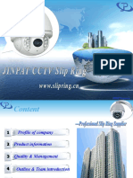 JINPAT Electrical Slip Ring Surveillance Industry