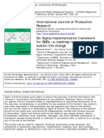 Six Sigma implementation framework for SMEs – a roadmap to manage and sustain the change