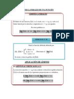 Segunda Cl Límites de Funciones