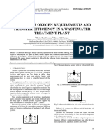 6-23-11042014 Analysis of Oxygen Requirements and Transfer Efficiency in a Wastewater Treatment Plant