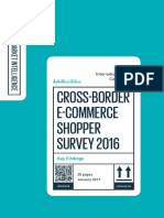 Ipc Cross Border e Commerce Shopper Survey2017