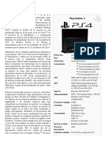 PlayStation 4 - Documentación