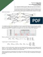 Red Neuronal Perceptrón Multicapa y Algoritmo BackPropagation Utilizando Operaciones de Matrices