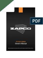 Zapco104 ST D BT Manual