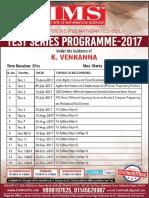 IAS/IFoS MathematicsTest Series-2017(Online/Offline) Begins from 25th June,2017