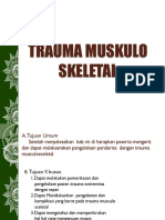Trauma Muskulo Skeletal Teguh
