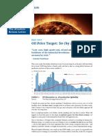 Absolute Return Letter Oil Price Target 0 Dollars by 2050 June 2017