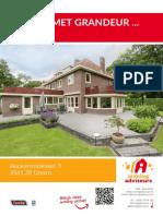 Brochure - Beukenrodelaan 3, Doorn