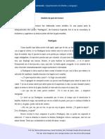 Guía de análisis de Rodríguez de Espínola