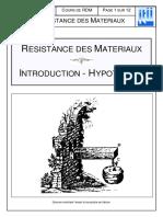 ITII  - Cours De Resistance Des Materiaux Avec Exercices Corriges.pdf