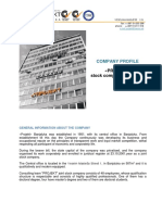 Profil Projekt Company