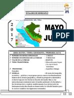 Modelo de Sìlabo 2017 Geografia 5to