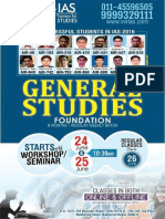 General Studies  Foundation Course