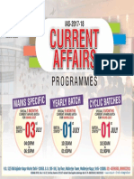 Current Affairs Programmes