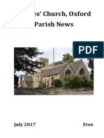 St Giles, Oxford - July 2017 Parish News
