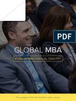 Global MBA Brochure