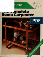 The Golden Homes Book of the Complete Home Carpenter