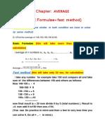 average basic   tricky formula