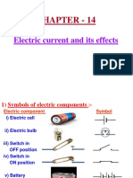 14 Electric Current and Its Effects