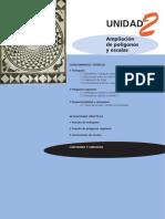 Ampliación de Polígonos y Escalas (Casals 2ºBAC)