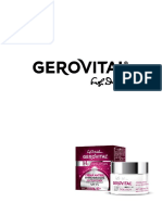 Gerovital Brand Romanesc