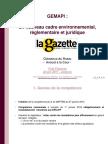 Présentation GeMAPI Clemence du Rostu La Gazette 22 Juin 2017