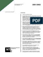 Voorbeeldexamen NT2 spreken 2001-2002