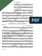 b1 Variations on Laudate Dominum