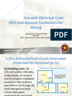 Lecture 14 GFCI and General Conductors for Wiring